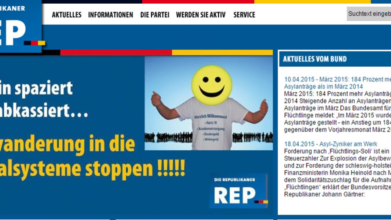 REP-Aufmacher