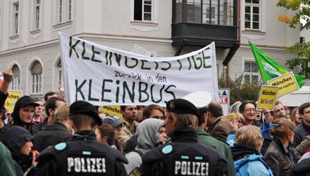 Die Nazi-Demo in München wurde für die Rechtsextremen zum Desaster