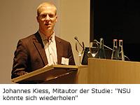 Johannes Kiess, Mitautor der Studie