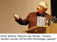 Elmar Brähler, Mitautor der Studie