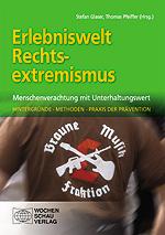 """Buchcover """"Erlebniswelt Rechtsextremismus"""""""