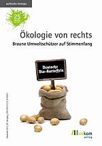 """Cover """"Ökologie von rechts"""" (Quelle: oekom verlag)"""