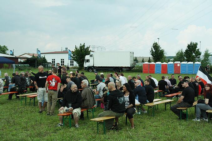 Nazi-Festival in Berga (Foto: Stefan Vogt)