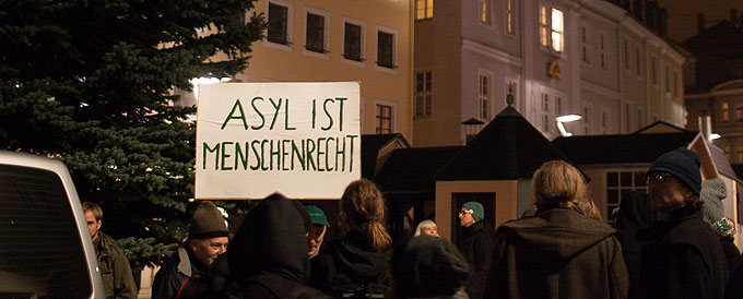 Protest von Schneeberg bleibt bunt.
