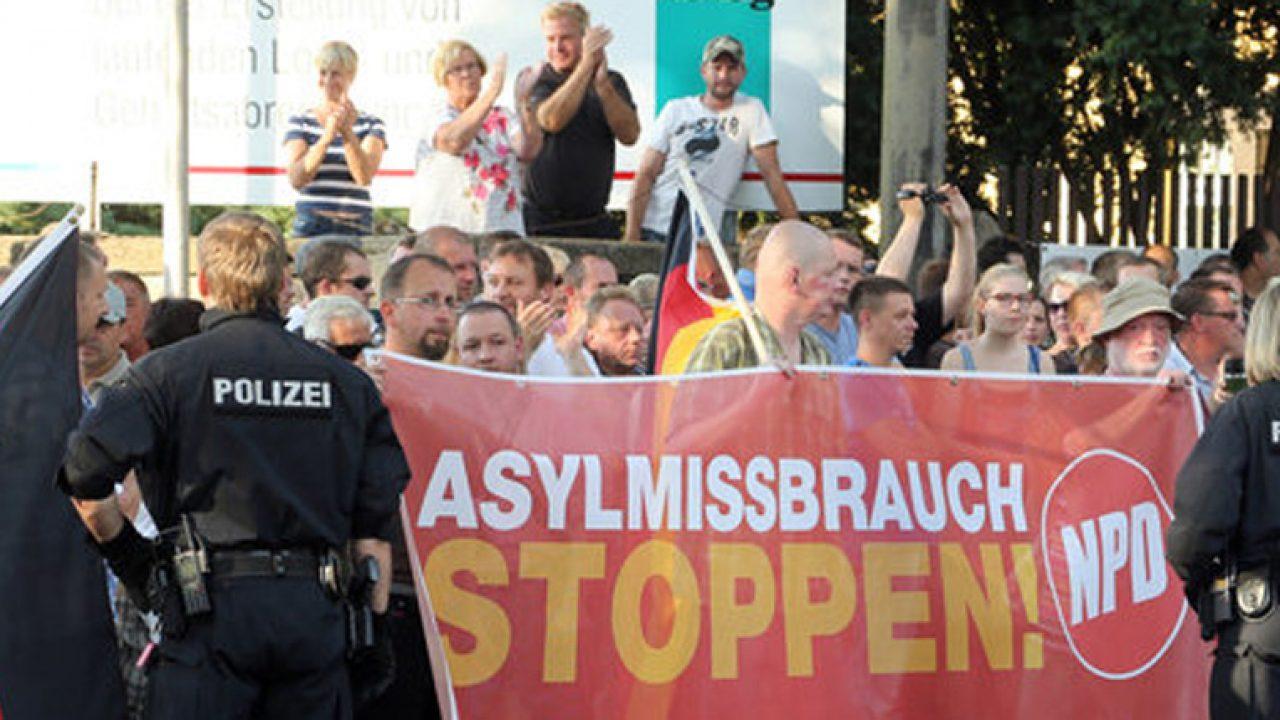 Notunterkünfte für Flüchtlinge in Dresden