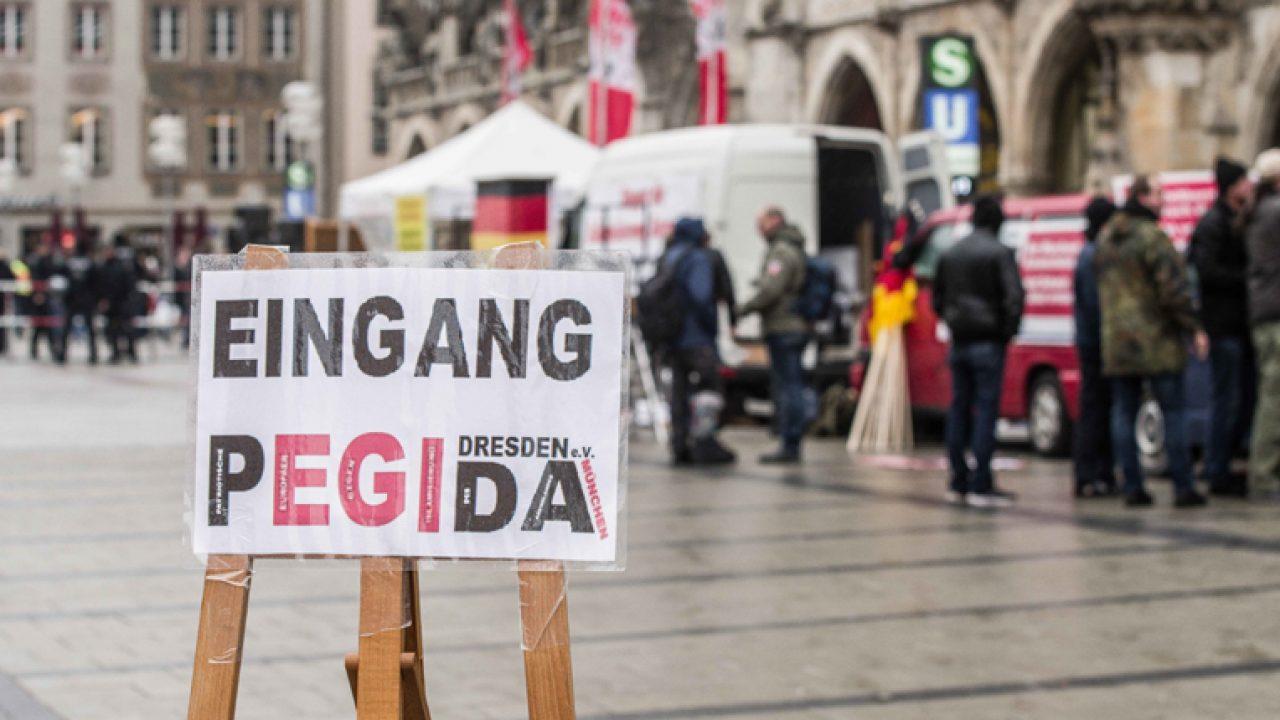 Pegida Dresden Rallies in Munich