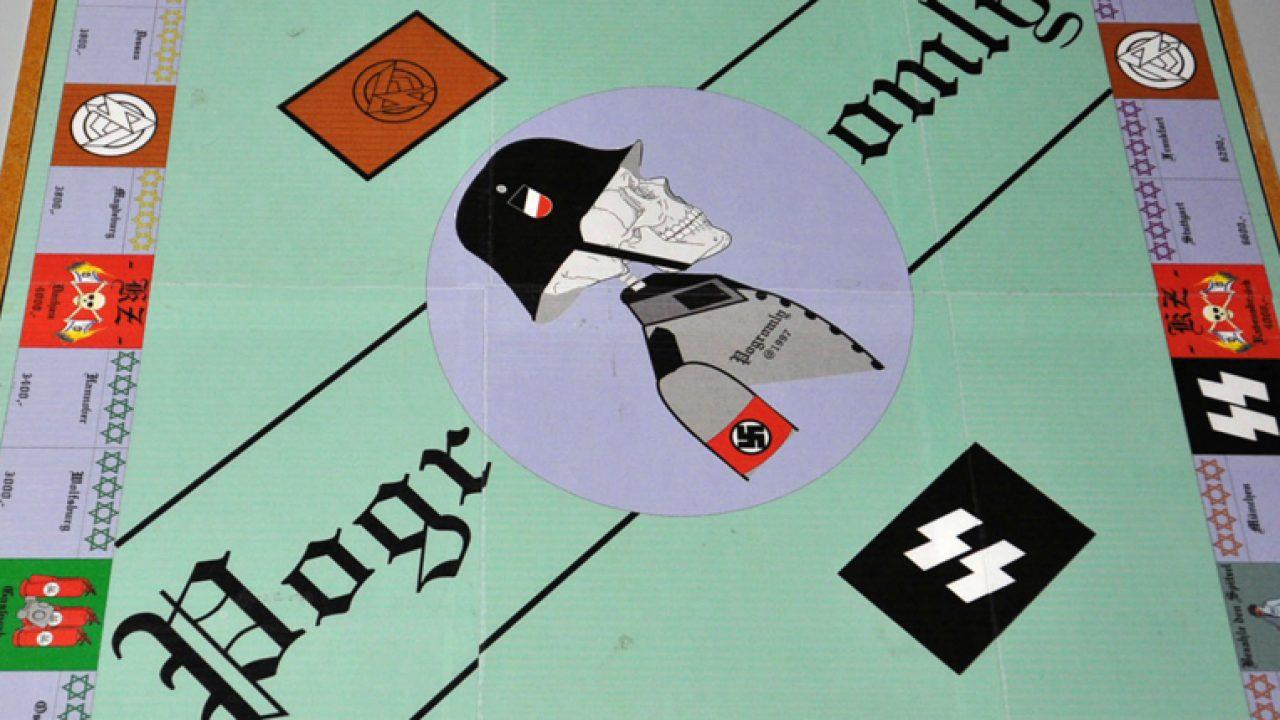 Neonazi-Terrorzelle - antisemitisches Monopoly-Spiel