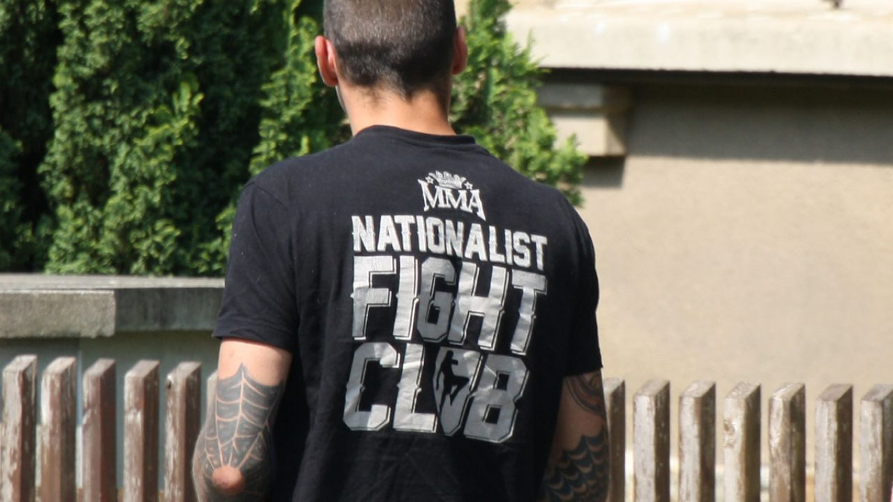 ü 2018-04-20 Ostritz Rechtsrock Kira (166) nationalist fight Club kdn mma kampfsport