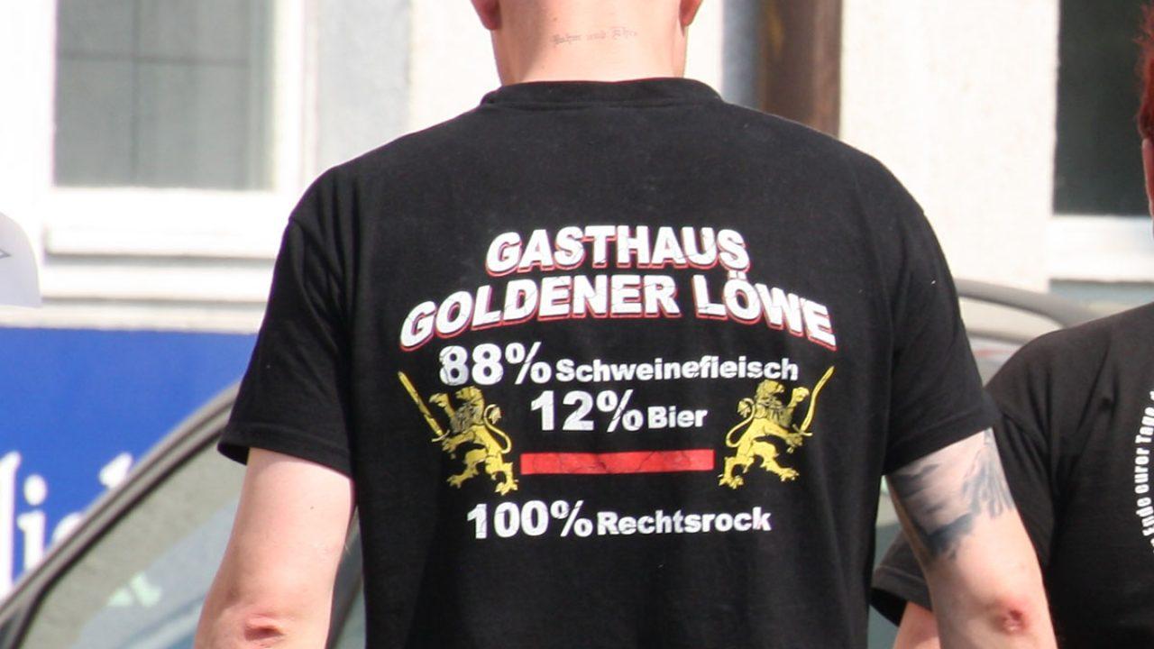 ü 2018-04-20 Ostritz Rechtsrock Kira (312) goldener löwe tommy frenck