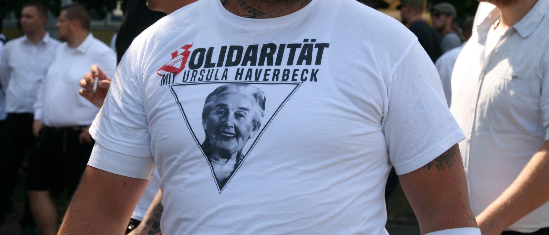 ü 2018 Heß Marsch Berlin Ursula Haverbeck