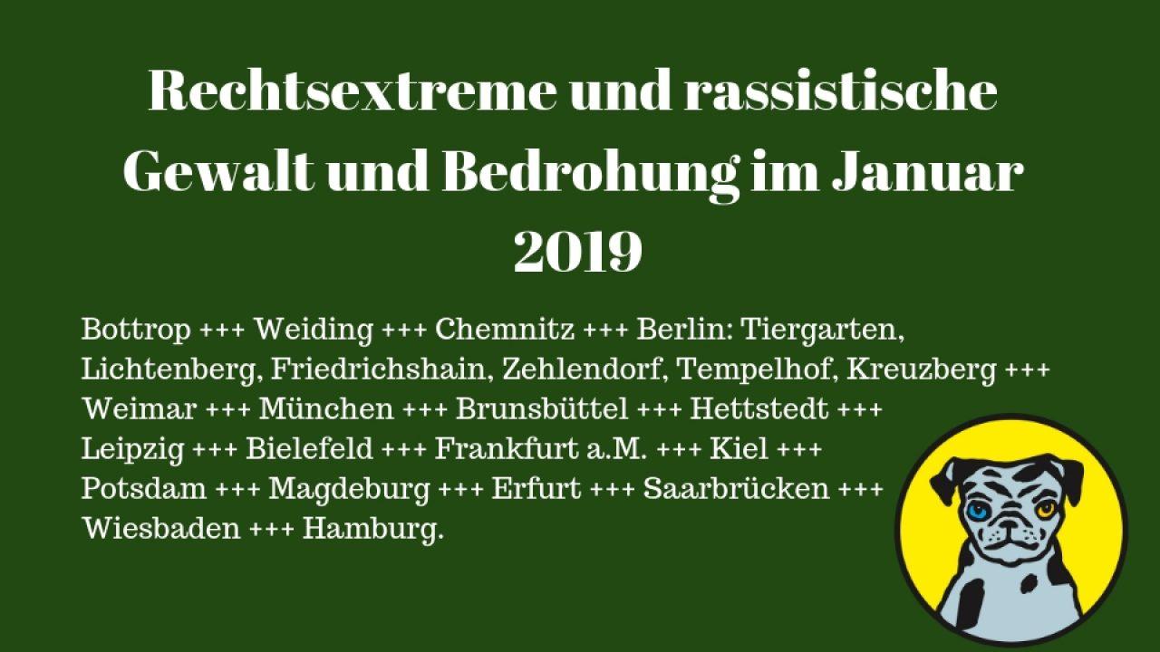 Januar 2019 Gewalt
