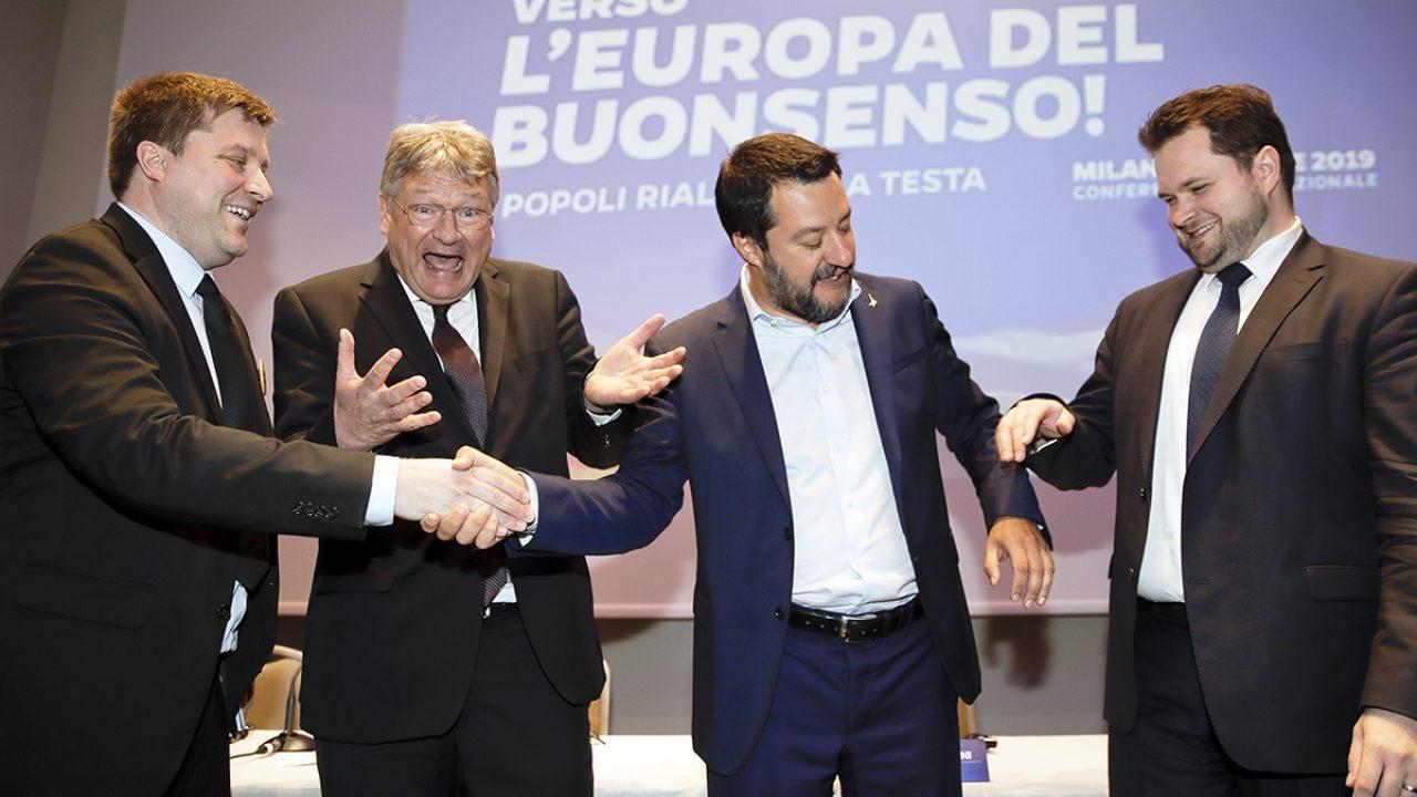 Italy Europe Right Unites
