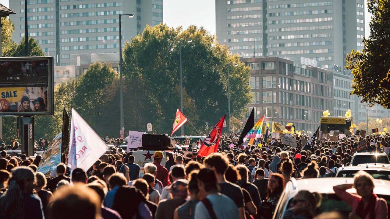 #Unteilbar Demo 2018 in Berlin