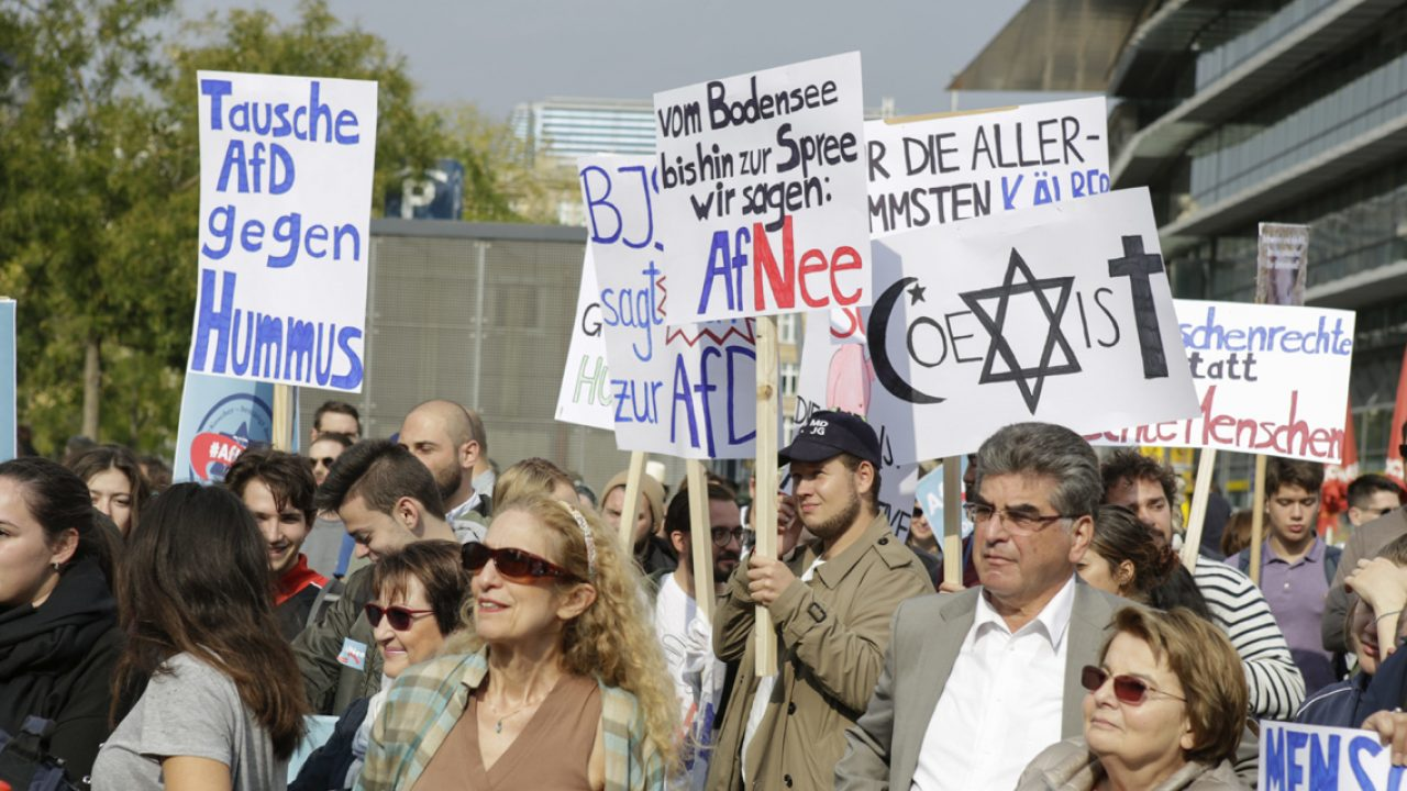 Germany: Protest against Jews in the AfD