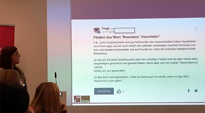 Powerpoint mit Frage von GuteFrage.net