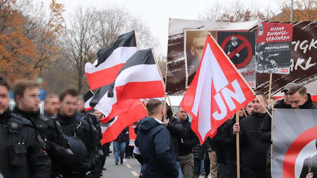 Nazi Demo Hannover