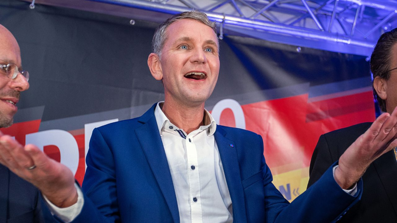 Landtagswahl in Thüringen - Wahlparty AfD
