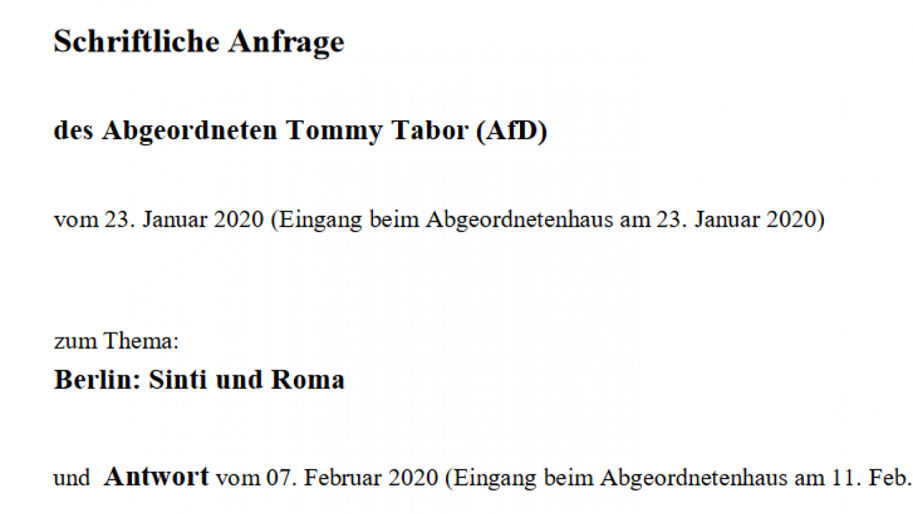 2020-03-13 AfD Anfrage Sinti Roma