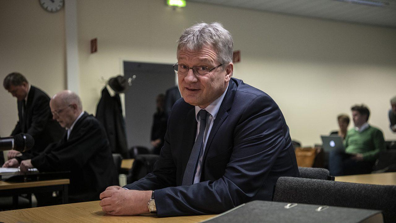 Verhandlung über unzulässige Wahlkampfhilfe für die AfD