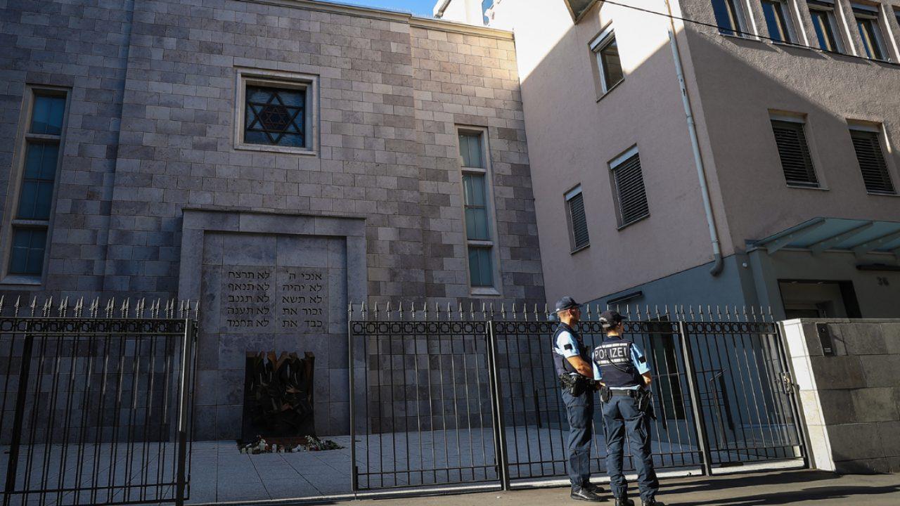 Sicherheit vor jüdischen Einrichtungen