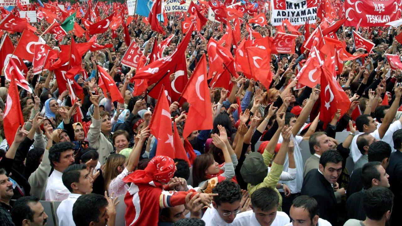 Türkische Nationalisten demonstrieren gegen EU