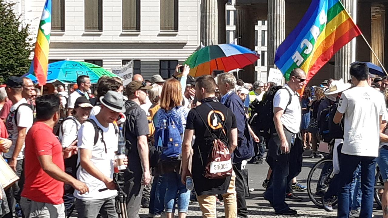 Querdenken Demo Berlin