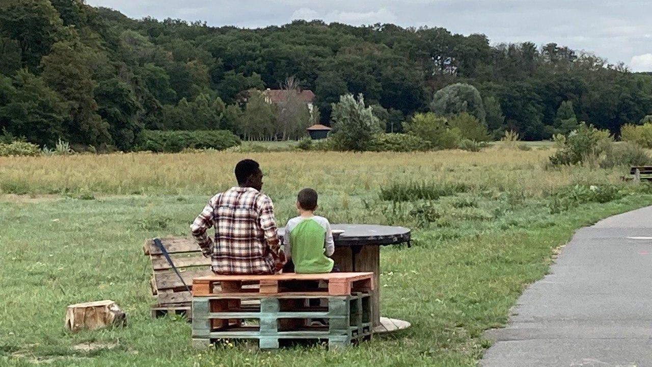"""Sächsische Idylle im """"Dorf der Jugend"""" in Grimma."""