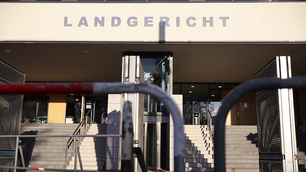 Das Landgericht Magdeburg: Aus Platzgründen findet der Prozess gegen den Halle-Attentäter hier und nicht im Oberlandesgericht Naumburg.
