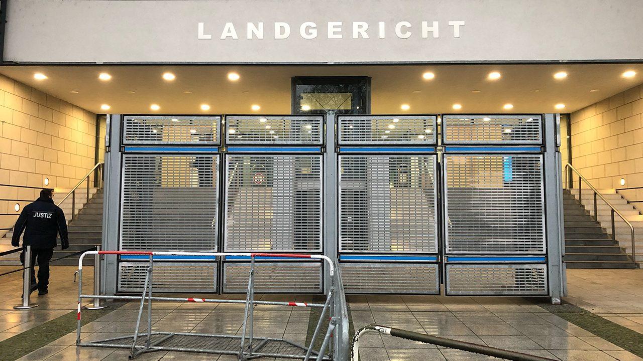 Das Landgericht Magdeburg: Aus Platzgründen findet der Prozess gegen den Halle-Attentäter hier und nicht im Oberlandesgericht Naumburg statt.