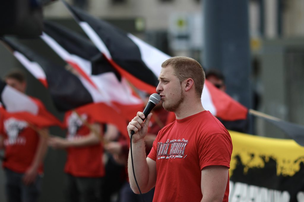 """Michael Brück in Chemnitz beim """"Tag der deutschen Zukunft (TddZ) 2019."""