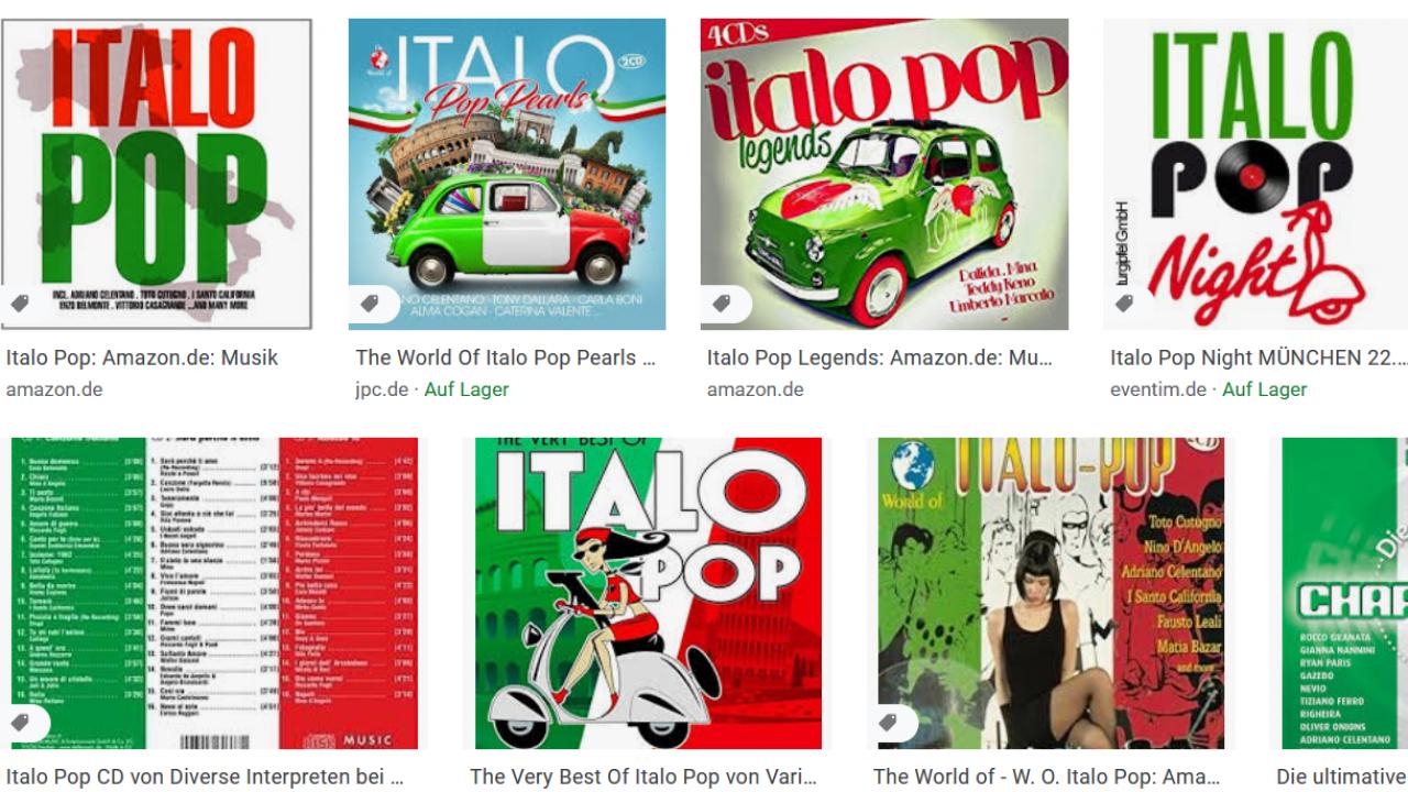 italo pop – Google Suche