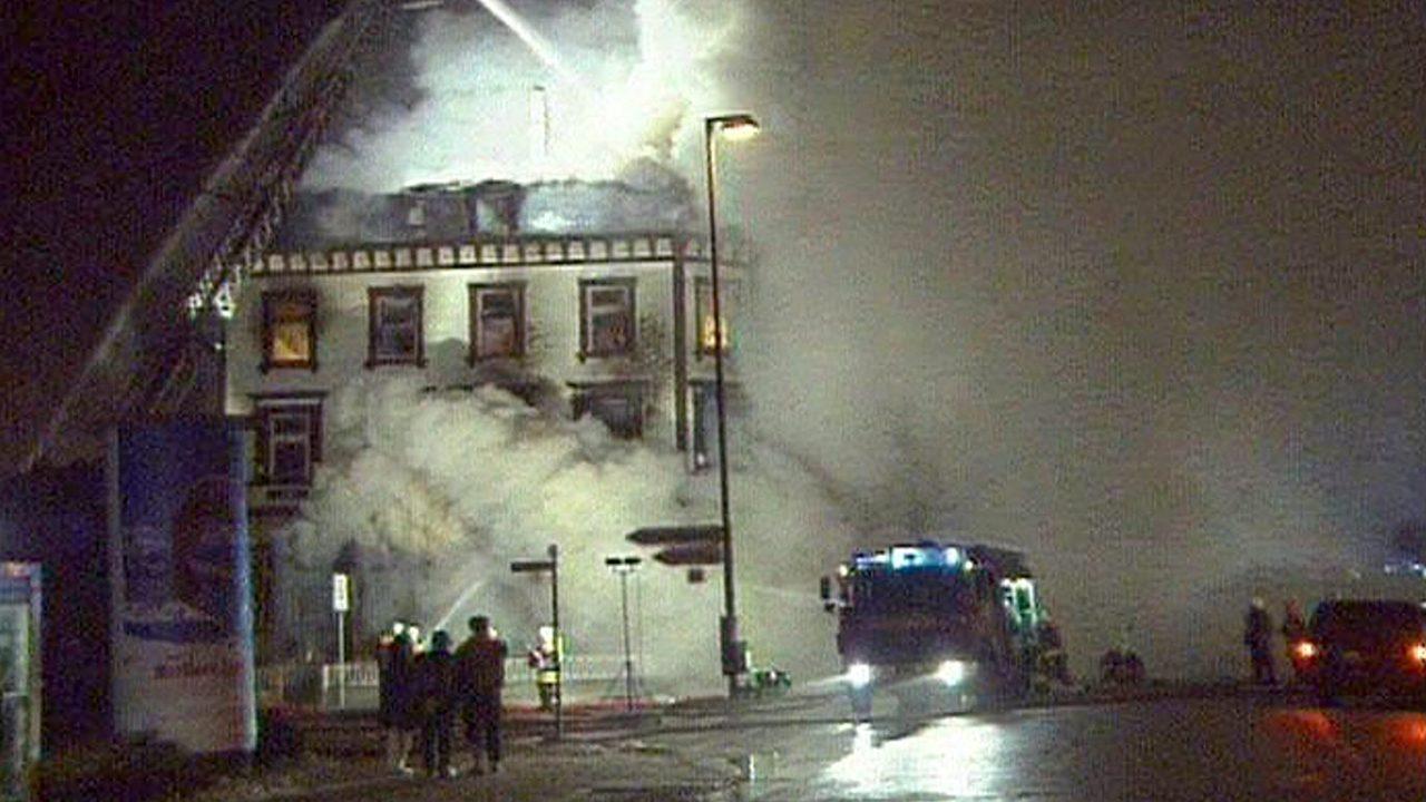 Brandanschlag Hafenstrasse