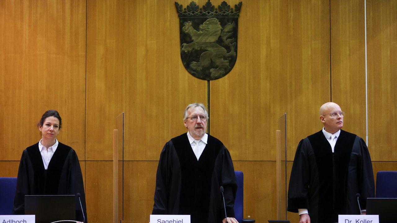 Urteilsverkündung im Mordfall Lübcke