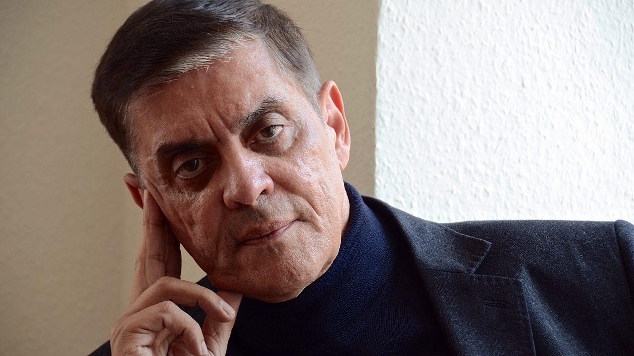 Im Gespräch: Romani Rose, seit 1982 Vorsitzender des Zentralrat Deutscher Sinti und Roma.