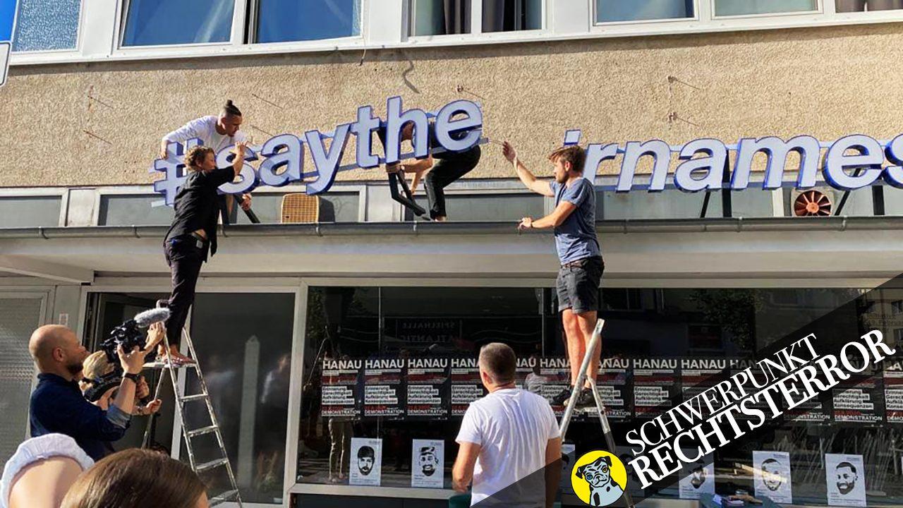 """140 qm gegen das Vergessen: """"Der Laden"""" in Hanau, ein Treffpunkt und Gedenktort für Überlebende und Hinterbliebene"""