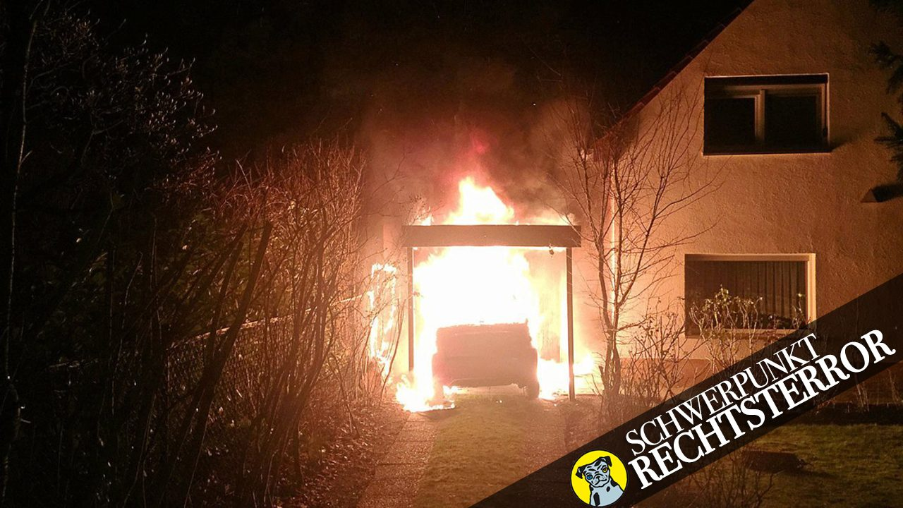 Das Familienhaus von Ferat Kocak: Im Februar 2018 verübten Neonazis hier einen Brandanschlag, während Kocak und seine Eltern schliefen.