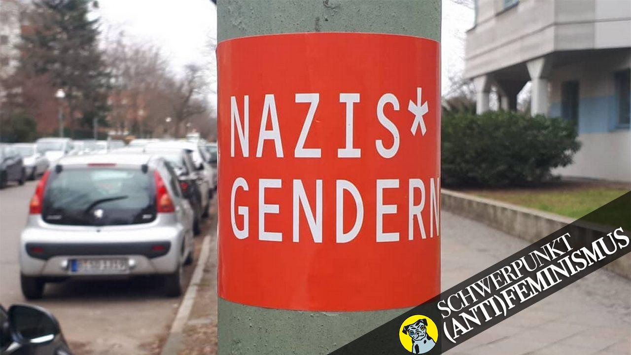 Denn Nazis ärgert das am meisten.