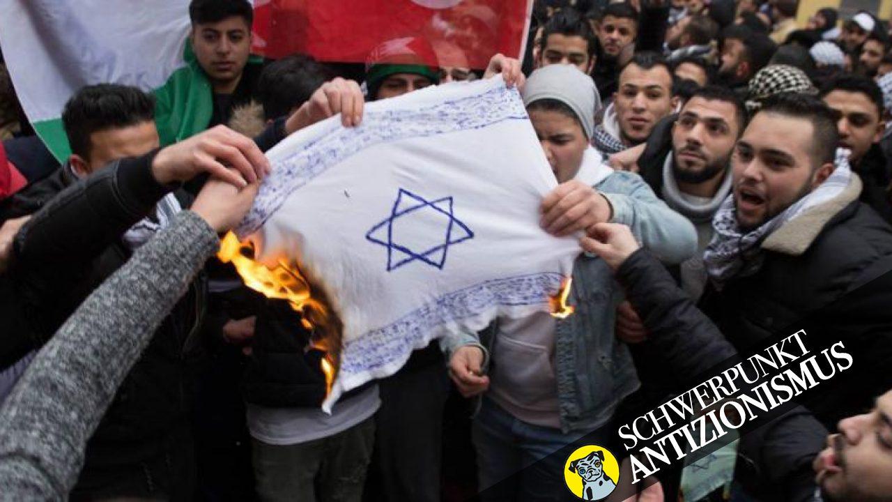Israelbezogener Antisemitismus hat Konsequenzen für Juden und Jüdinnen in Deutschland. Bild von 2018