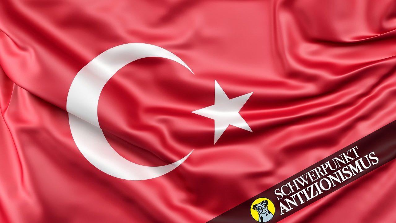 Symbolbild türkische Flagge.