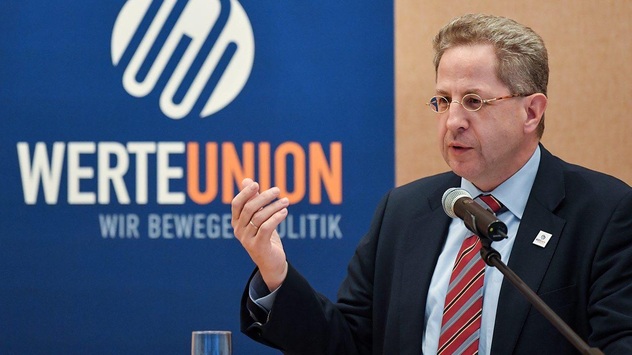 Der Posterboy der WerteUnion: Hans-Georg Maaßen. Nach der Wahl Max Ottes zum Vorsitzenden lässt der CDU-Kandidat in Thüringen seine Mitgliedschaft im Verein aber ruhen.