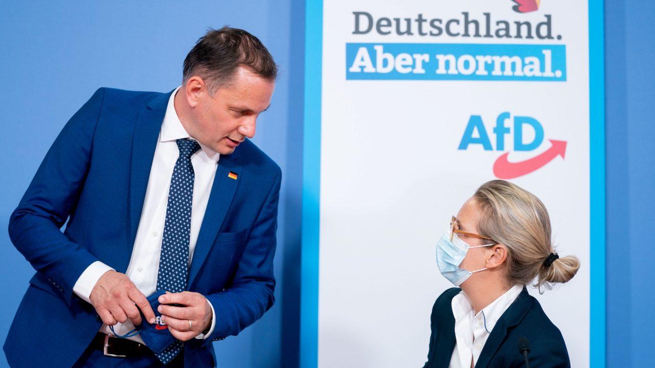 AfD stellt ihr Spitzenduo für die Bundestagswahl vor