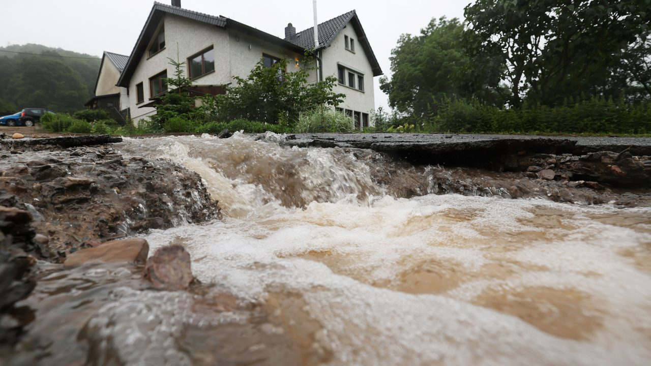 Nach dem Unwetter in Nordrhein-Westfalen