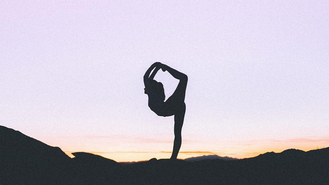 Namaste: Ein klarer Himmel bedeutet keine Chemtrails.