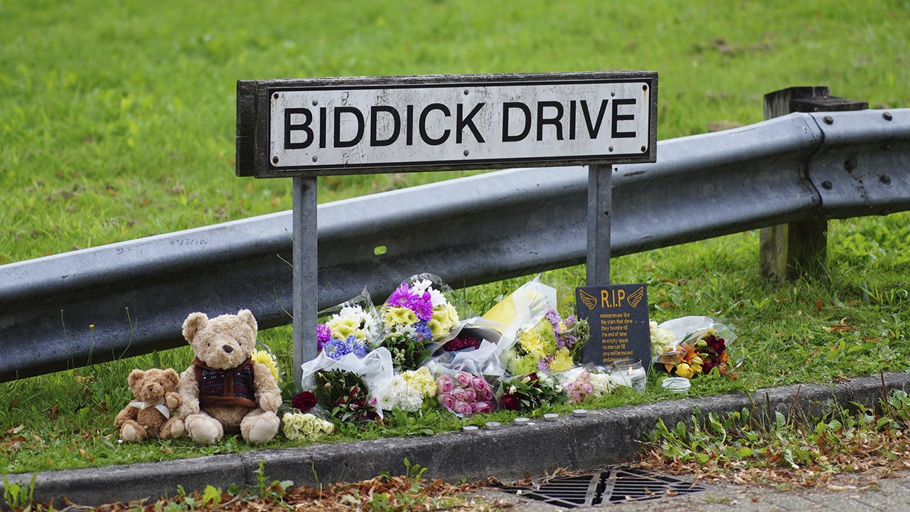 Biddick Drive im englischen Plymouth: Dort ermordete ein Anhänger der Incel-Subkultur fünf Menschen und schließlich sich selbst.