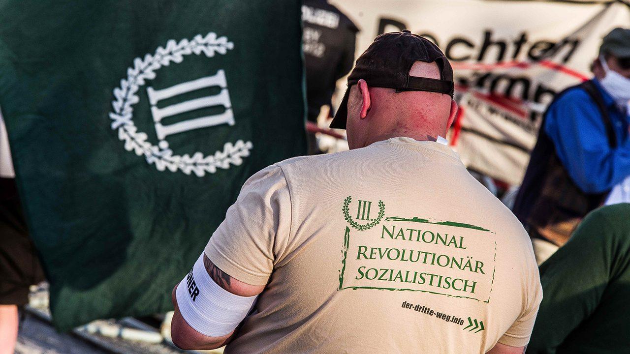 """Der III. Weg, in their own words: """"Nationalist, revolutionary, socialist""""."""