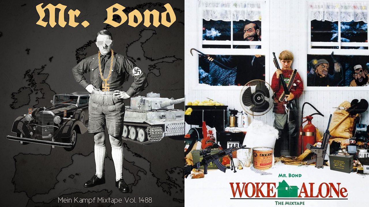 "Mr. Bonds Alben ""Mein Kampf Mixtape Vol. 1488"" und ""Woke Alone (The Mixtape)"""